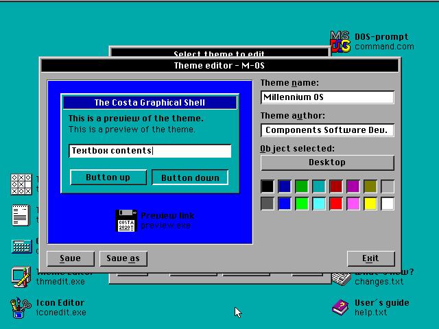 Screenshot of Costa